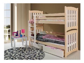 Detská poschodová posteľ Serafin