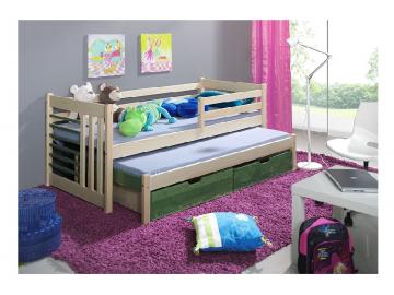 Detská posteľ s prístelkou Szymon