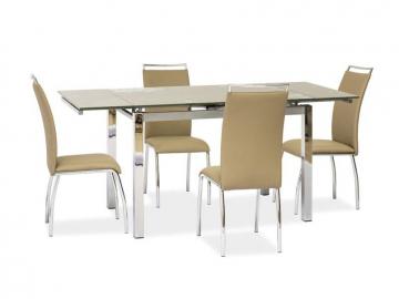 Jedálenský stôl GD-017 béžový