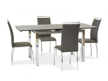 Jedálenský stôl GD-017 sivý