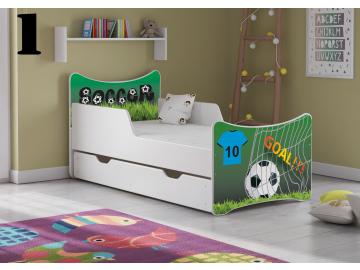 Detská posteľ SMB - chlapci