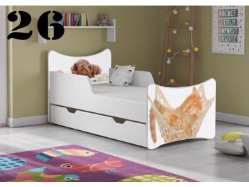 Detská posteľ SMB BIG - zvieratá