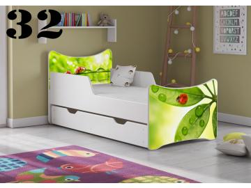 Detská posteľ SMB so zásuvkou 180x90