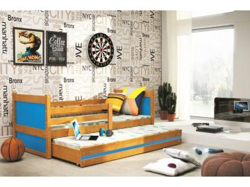 Detská posteľ RICO 2 / JELŠA 190x80