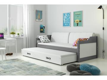 Detská posteľ Dawid 190x80 grafit