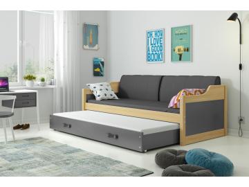 Detská posteľ Dawid borovica 190x80