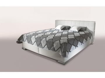 moderna biela manzelska postel calunena LIBRO