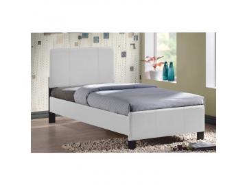 Jednolôžková posteľ ARKONA / biela