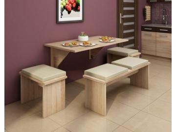 Skladací jedálenský stôl EXPERT 9