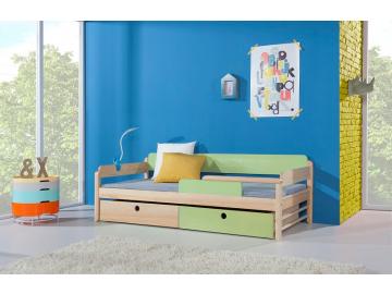 Detská drevená posteľ NATU