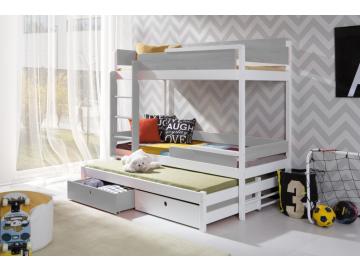 detská poschodová posteľ Natu III a