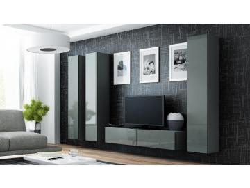 Obývacia stena VIGO 14 sivá