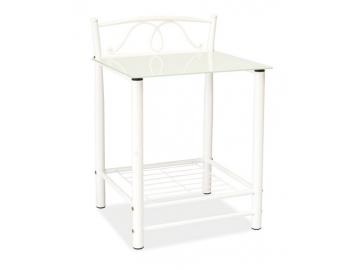 Nočný stolík ET-920 / biela