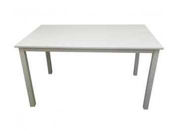 Jedálenský stôl ASTRO 135 / biela