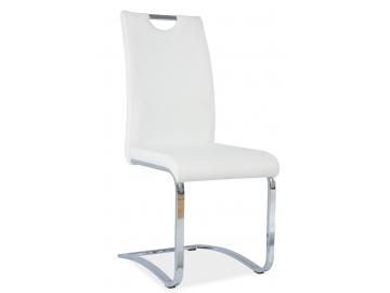 Jedálenská stolička H-790 biela