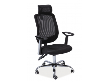 Kancelárske kreslo Q-118 čierne