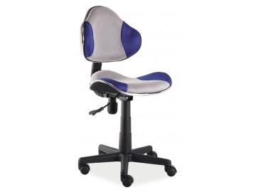 Detská stolička Q-G2 modro-sivá
