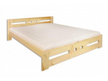 Manželská posteľ - masív LK117 / 140 cm borovica