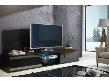 TV stolík Hit čierna / čierny lesk