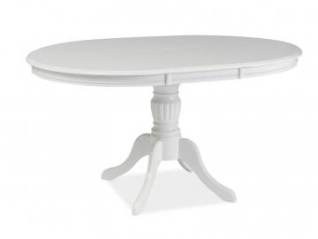 Jedálenský stôl OLIVIA / biela