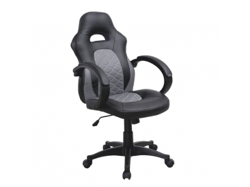 sivo-čierna kancelárska stolička NELSON