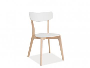 moderna biela jedalenska stolicka TIBI