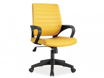 moderne zlte kancelarske kreslo Q 051