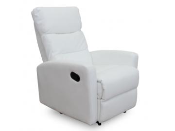 silas kreslo biela