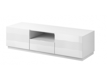 alabaster tv stolík AB 03 2d1s