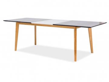 moderny skleneny jedalensky stol METROPOLIS