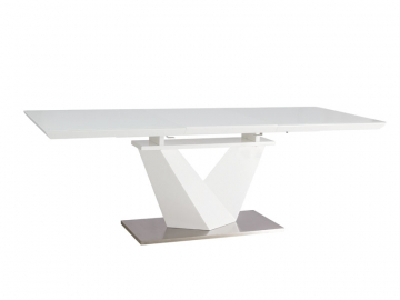 moderny biely jedalensky stol ALARAS III