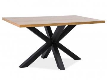 masivny dreveny jedalensky stol CROSS