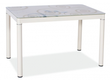 moderny jedalensky stol DAMAR KREM 80X60