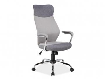 moderne sive kancelarske kreslo Q 319 siva