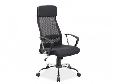moderne kancelarske kreslo Q 345 cierne