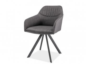 moderna siva jedalenska stolicka MILTON II