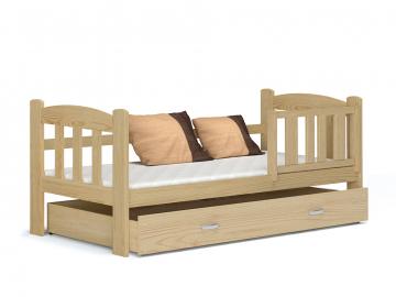 detska jednolozkova posteL TEDI borovica drevo
