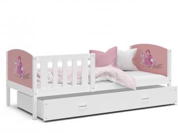 detska postel TAMI P biela