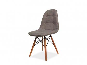 moderna siva jedalenska stolicka AXEL II