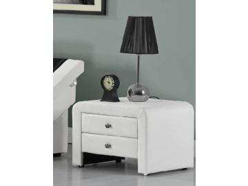 wilson nočný stolík biela