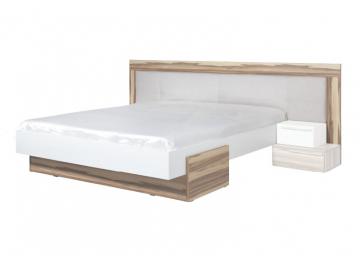 moderna manzelska postel MORENA orech baltimore biela