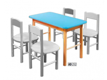 detske dreveny stol AD252