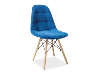 moderna jedalenska stolicka AXEL III modra