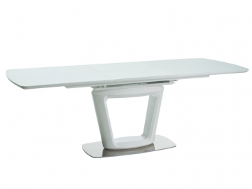 moderny biely jedalensky stol CLAUDIO II biela