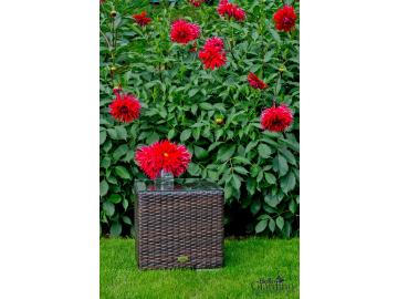 Záhradný ratanový stôl SM002