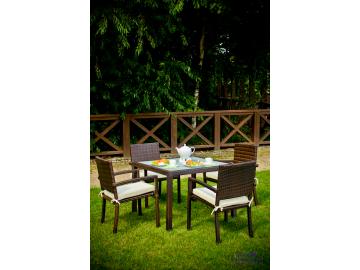 Záhradný ratanový set Adorazione