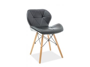 Jedálenská stolička MATIAS čierna