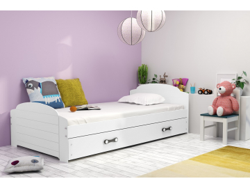 Detská posteľ Lili biela
