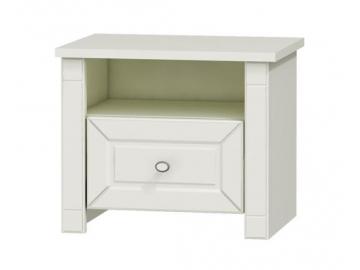 elegantny biely nocny stolik LUNA LN 2