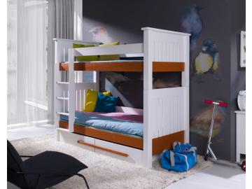 Detská poschodová posteľ Casimir